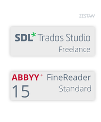 SDL Trados Studio 2019 Freelance + ABBYY FineReader 15