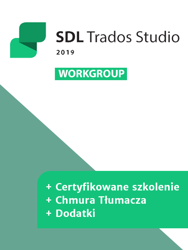 SDL Trados Studio 2019 Workgroup